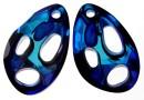 Swarovski, pandantiv Radiolarian, bermuda blue, 18mm - x1