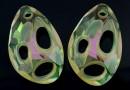 Swarovski, pandantiv Radiolarian, luminous green, 34mm - x1