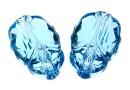 Swarovski, margele Scarab aquamarine, 12mm - x1
