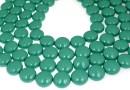 Perle Swarovski disc, jade pearl, 10mm - x10