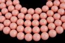 Perle Swarovski, pink coral, 16mm - x1