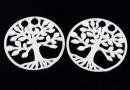 Link copacul vietii argint 925, 19mm  - x1