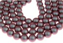 Perle Swarovski cu un orificiu, iridescent red, 10mm - x2