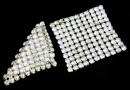 Swarovski Crystal mesh, moonlight, 20x3.2cm - x1