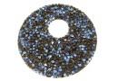 Swarovski, pand. fine rocks, black moonlight, 40mm - x1