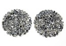Swarovski, cabochon f. rocks, light chrome, 19.5mm - x1