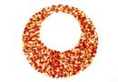 Swarovski pand. ultrafine rocks, red magma, 30mm - x1