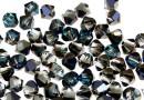 Swarovski, margele bicone, bermuda blue, 3mm - x20