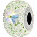 Swarovski, becharmed pave aurore boreale daisy, 14.5mm - x1