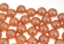 Perle Swarovski cu un orificiu, rose peach, 8mm - x2
