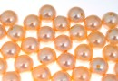 Perle Swarovski cu un orificiu, peach, 8mm - x2