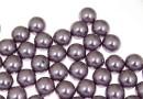 Perle Swarovski cu un orificiu, mauve, 8mm - x2