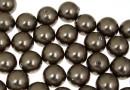 Perle Swarovski cu un orificiu, brown, 10mm - x2