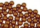 Perle Swarovski cu un orificiu, copper, 4mm - x4