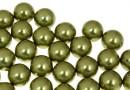 Perle Swarovski cu un orificiu, light green, 10mm - x2