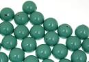 Perle Swarovski cu un orificiu, jade, 10mm - x2
