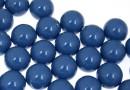 Perle Swarovski cu un orificiu, lapis pearl, 12mm - x2