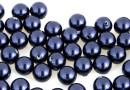 Perle Swarovski cu un orificiu, night blue, 4mm - x4