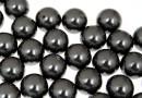 Perle Swarovski cu un orificiu, black, 6mm - x4