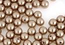 Perle Swarovski cu un orificiu, bronze, 6mm - x4