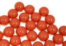 Perle Swarovski cu un orificiu, coral, 6mm - x4