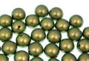 Perle Swarovski cu un orificiu, iridescent green, 6mm - x4