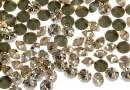 Swarovski, chaton pp21, silk diamond, 2.8mm - x20