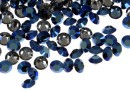 Swarovski, chaton pp21, metallic blue, 2.8mm - x20