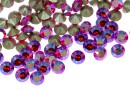 Swarovski, chaton pp10, light siam shimmer, 1.6mm - x20