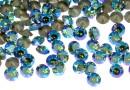 Swarovski, chaton pp10, erinite shimmer, 1.6mm - x20