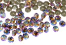 Swarovski, chaton pp14, light col. topaz shimmer, 2mm - x20