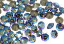 Swarovski, chaton pp10, black diamond shimmer, 1.6mm - x20