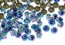 Swarovski, chaton ss24, light sapphire shimmer, 5.2mm - x10