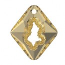 Swarovski, growing pendant, golden shadow, 36mm - x1