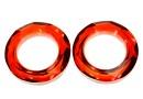 Swarovski, pandantiv cosmic ring, red magma, 14mm - x1