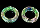 Swarovski, pandantiv cosmic ring, luminous green, 20mm - x1