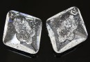 Swarovski, pandantiv growing rhombus, crystal, 26mm - x1