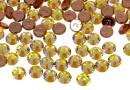 Swarovski, hotfix, ss10, citrine shimmer, 2.7mm - x20