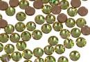 Swarovski, hotfix, ss10, luminous green, 2.7mm - x20