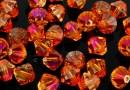Swarovski, margele bicone, astral pink, 3mm - x20