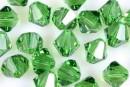 Swarovski, margele bicone, fern green, 3mm - x20
