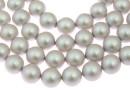 Perle Swarovski, iridescent dove grey, 5mm - x100