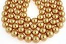 Perle Swarovski, bright gold, 2mm - x100