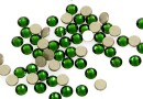 Swarovski rhinestone, dark moss green, ss12, 3mm - x20