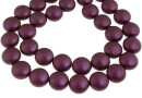 Perle Swarovski disc, elderberry pearl, 12mm - x4