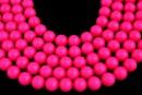 Perle Swarovski, neon pink, 16mm - x1