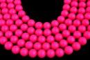 Perle Swarovski, neon pink, 14mm - x2