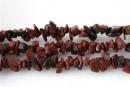 Mahogany obsidian - chips - obsidian mahogany, 87cm